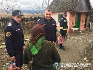 Pompierii covăsneni, ajutoarele lui Moș Crăciun