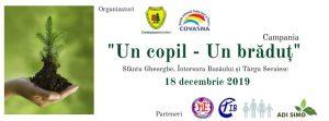 """Campania """"Un copil – Un brăduț"""" ajunge și în județul Covasna"""