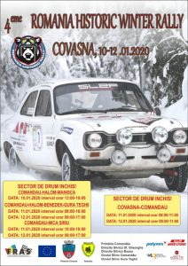 Participare internațională masivă, la Romania Historic Winter Rally