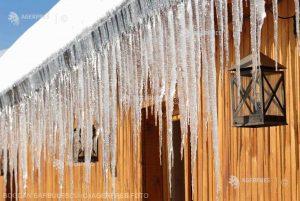 Aproape minus 23 de grade Celsius la Întorsura Buzăului, cea mai friguroasă noapte din sezon