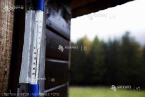 Ger la Întorsura Buzăului - minus 21,6 grade Celsius, cea mai scăzută temperatură a sezonului, până în prezent