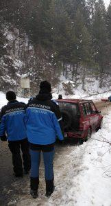 "Jandarmii prezenți la ""Winter Rally Covasna"""