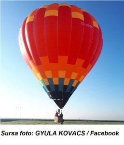 REPORTAJ Covasna: Afacere StartUp Now lansată de doi tineri - plimbări cu balonul cu aer cald