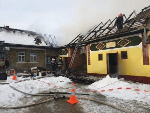 Incediu la acoperișul unei case din Întorsura Buzăului