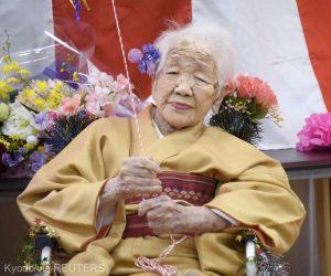 Cea mai vârstnică persoană din lume, japoneza Kane Tanaka, a împlinit 117 ani