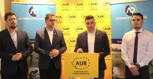 Alianța Pentru Unirea Românilor (A.U.R.) anunță proteste contra adoptării noului Cod Administrativ