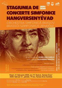Concertul Orchestrei Simfonice din Brașov, organizat la Sfântu Gheorghe, marchează 250 ani de la nașterea lui Beethoven