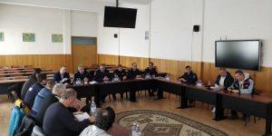 IJJ Covasna: Întâlnire privind prevenirea și combaterea evenimentelor neplăcute pe perioada competițiilor sportive din județul Covasna