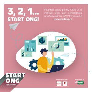 ONG-urile mici pot obține finanțări în 2020 în valoare totală de 500.000 de euro, prin programul Start ONG