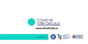 Guvern: S-a lansat platforma online COVID-19 Ştiri Oficiale