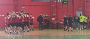 Echipa de handbal masculin juniori 2 a CSM, la un pas de turneul final