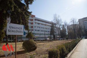 14 pacienţi cu COVID-19, internaţi în prezent la Spitalul Judeţean; un pacient, externat
