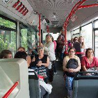 Societatea de transport public în comun va asigura curse în două intervale orare