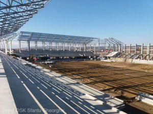Noul stadion al Sepsi OSK va avea peste 8.000 de locuri şi ar putea fi inaugurat în noiembrie