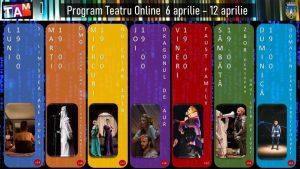 """Programul online al Teatrului """"Andrei Mureșanu"""" în săptămâna 6-12 aprilie"""