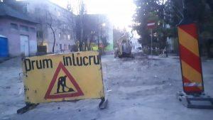 Strada Dealului şi o nouă porţiune din strada Crângului se închid pentru reparaţii