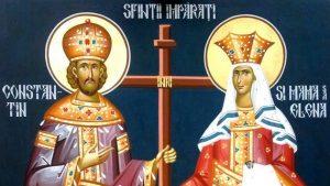 Tradiții: Sfinţii Împăraţi Constantin şi Elena