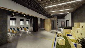 Încep lucrările de construire a noului centru Design Bank  Fostul sediu al Băncii Naţionale a României din Sfântu Gheorghe va găzdui un centru de inovare şi start-up