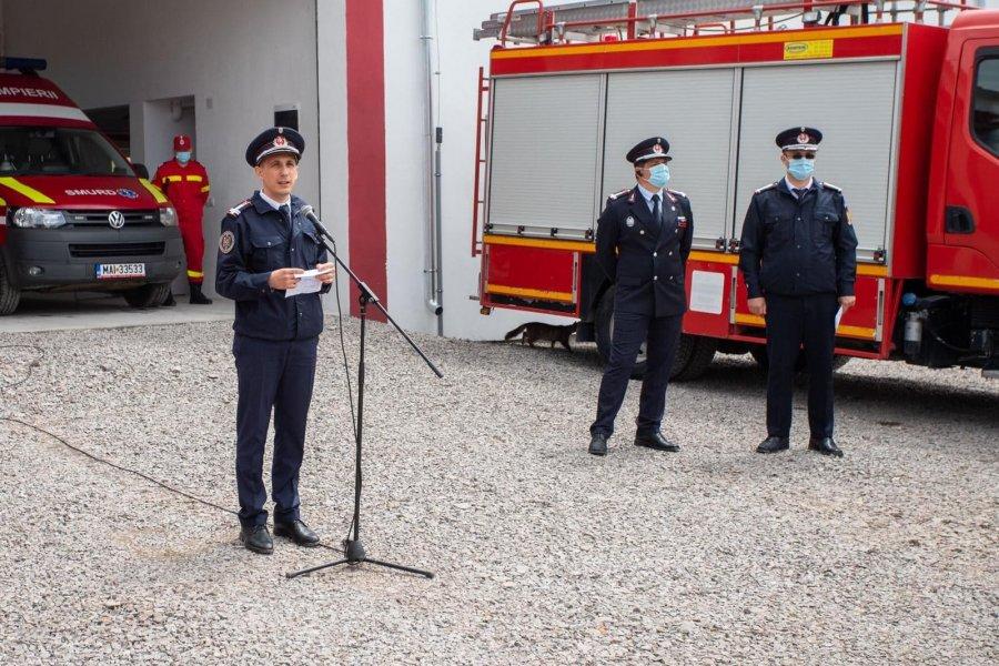 """""""Faptul că pompierii există de acum la Baraolt este  o normalitate în zilele noastre, în anul 2020!"""""""