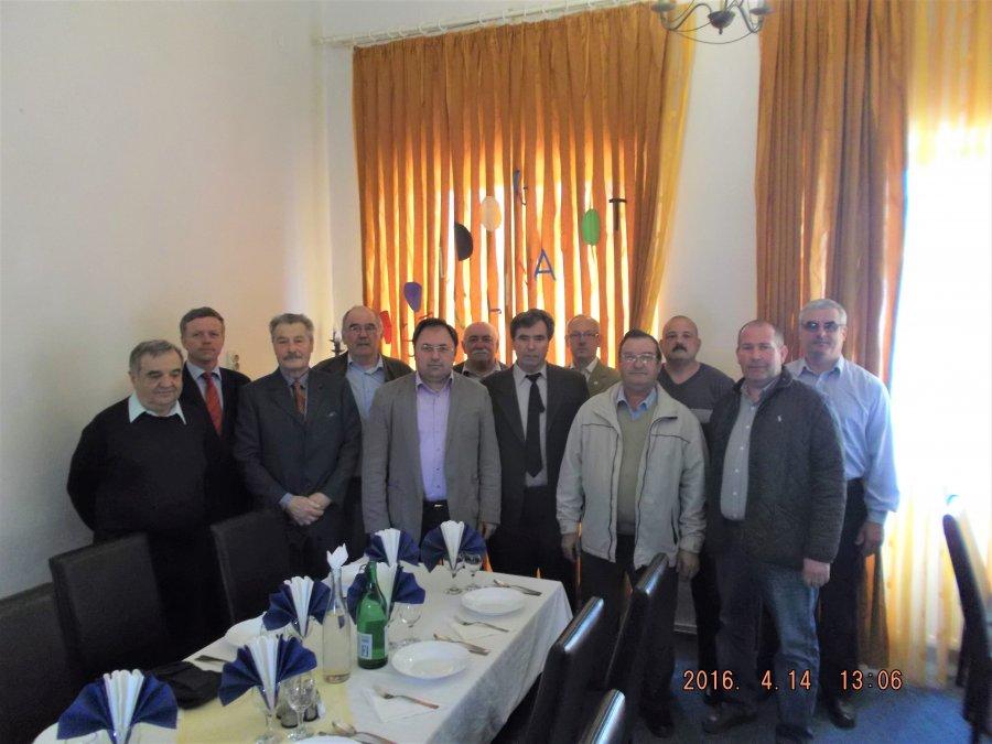 Moment festiv a Asociației Cadrelor Militare în Rezervă și în Retragere din Ministerul Afacerilor Interne