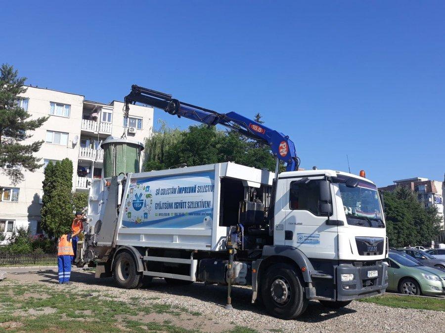Cantitatea de deșeuri  colectate selectiv de TEGA a crescut cu 470 de tone, față de perioada similară a anului trecut
