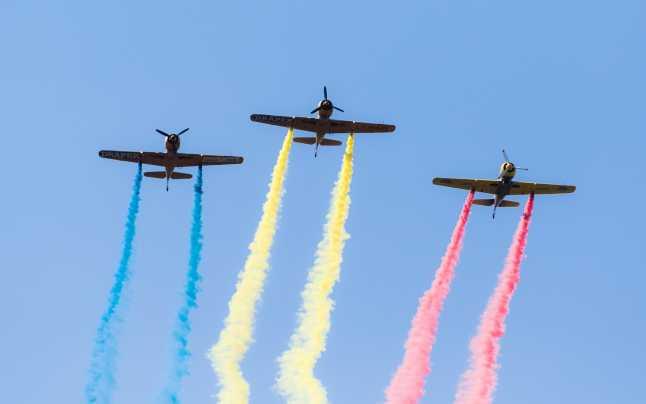 Aeronave militare vor survola oraşele Sfântu Gheorghe și Covasna, de Ziua Aviaţiei Române şi a Forţelor Aeriene