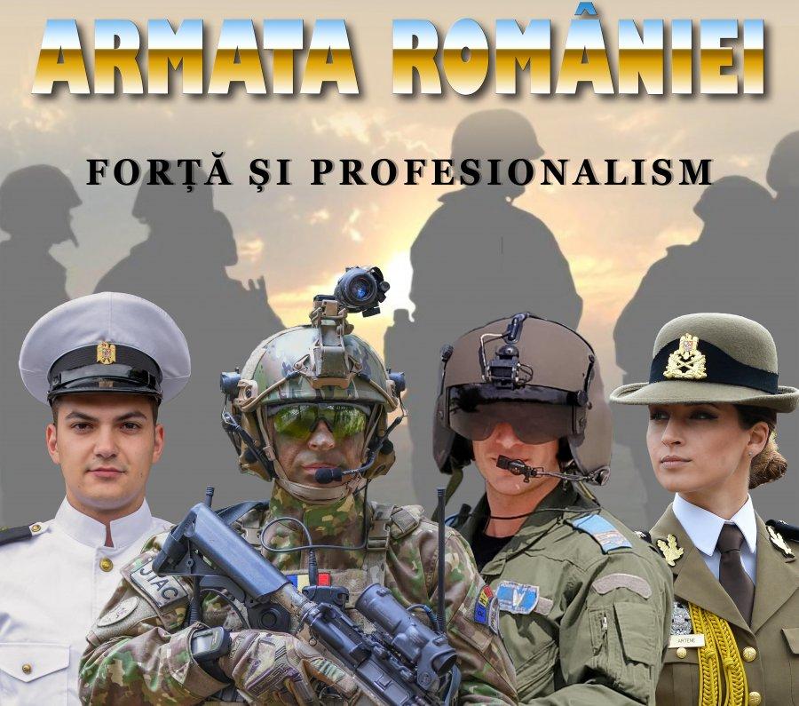 E TIMPUL SĂ-ȚI ALEGI PROFESIA. Acum ai ocazia să îndeplinești serviciul militar în calitate de rezervist voluntar în Armata României!