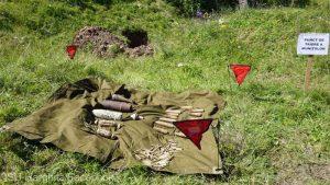 Harghita: Muniţie din al Doilea Război Mondial, găsită de un detectorist autorizat