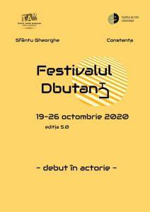 Opt spectacole în finala celei de-a cincea ediţii a Festivalului naţional de teatru DbutanT