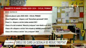Ministerul Educaţiei se gândește să reducă numărul de ore pe care elevii îl petrec la şcoală.