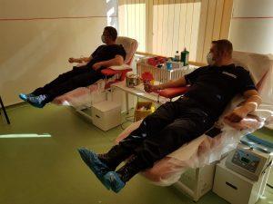 Încă odată alături de comunitate, jandarmii covăsneni susțin viața,  donând sânge!