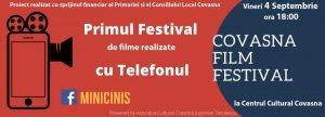 Festivalul de film Minicinis Covasna își premiază câștigătorii, astăzi
