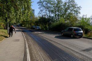 Lucrări de asfaltare pe strada Vasile Goldiș, astăzi și mâine