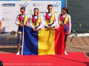 Canotaj: România a cucerit cinci medalii de aur la Europenele Under-23