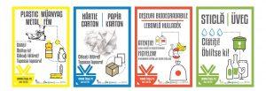 Plasticul şi hârtia sunt colectate din nou separat, la Sfântu Gheorghe