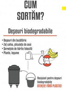 În Sfântu Gheorghe, toată lumea poate colecta separat deșeurile biodegradabile