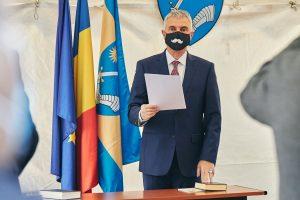 Tamas Sandor, aflat la al patrulea mandat de preşedinte al Consiliului Judeţean, învestit în funcţie