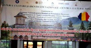 Universitatea de la Izvoru Mureşului:  Nevoia de identitate în contextul globalizării