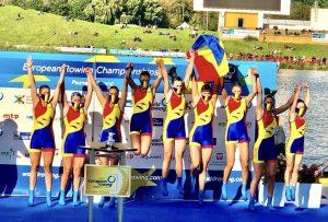 6 medalii pentru România la Campionatele Europene de Canotaj, dintre care 4 de aur!