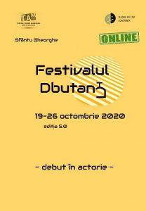 30 de tineri actori au intrat în semifinala Festivalului D-BUTAN-T