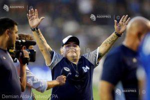 Fotbal: Diego Maradona a încetat din viaţă în urma unui stop cardiac