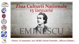 Ziua Culturii Naționale va fi sărbătorită la Întorsura Buzăului