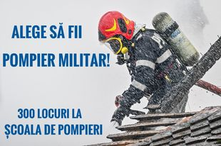 """Alege să fii pompier militar! ISU Covasna recrutează candidaţi pentru Şcoala de Subofițeri de Pompieri și Protecție Civilă """"Pavel Zăgănescu"""" Boldești"""