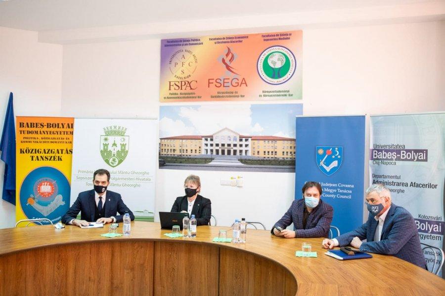 Juristul Dulanyi-Balogh Szilard (USR), învestit oficial în funcţia de subprefect