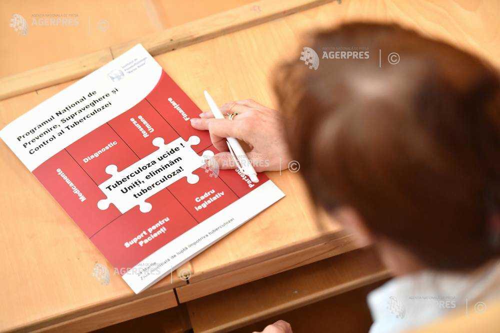 24 martie - Ziua mondială de luptă împotriva tuberculozei