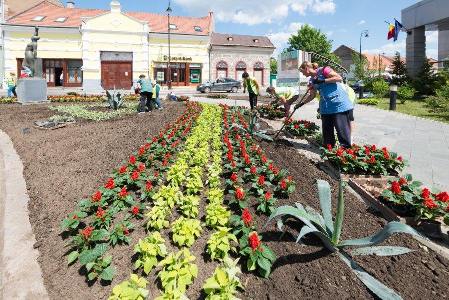 Orașul nostru, responsabilitatea noastră! Curățenie de primăvara cu ocazia Zilei Pământului