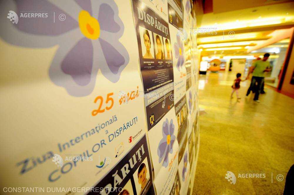 25 mai - Ziua internaţională a copiilor dispăruţi