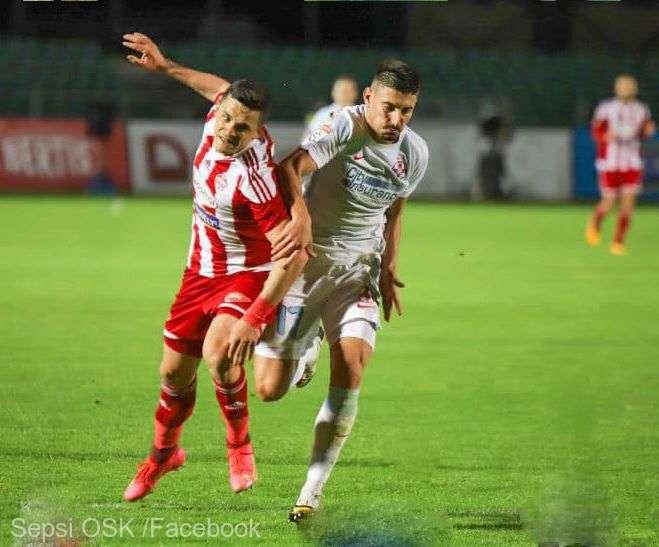 Fotbal - Liga I: FCSB a smuls egalul cu Sepsi OSK, 2-2 la Sfântu Gheorghe