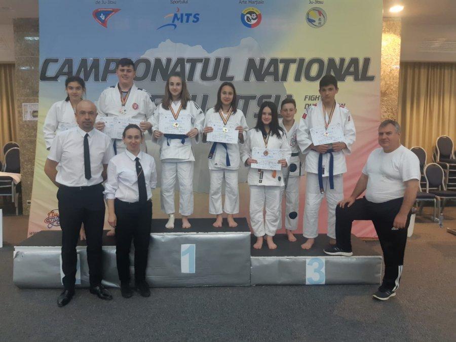 Rezultate excelente obținute de sportivii Secției de arte marțiale a CSM Sfântu Gheorghe, la Campionatele Naționale de Ju-Jitsu