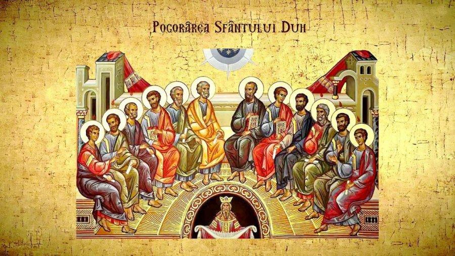 Tradiţii.Mari Sărbători creștine: Rusaliile şi Sf. Treime